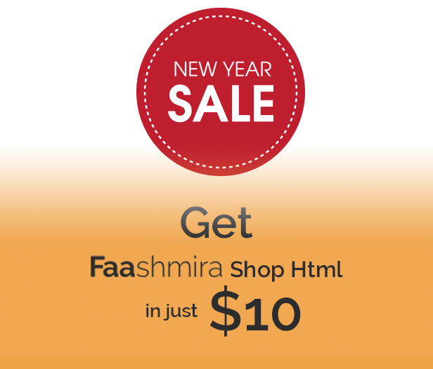Html new year sale
